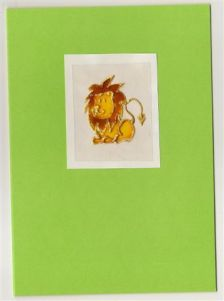 Greeting Cards - Lion - Roooaaaarrrrr...