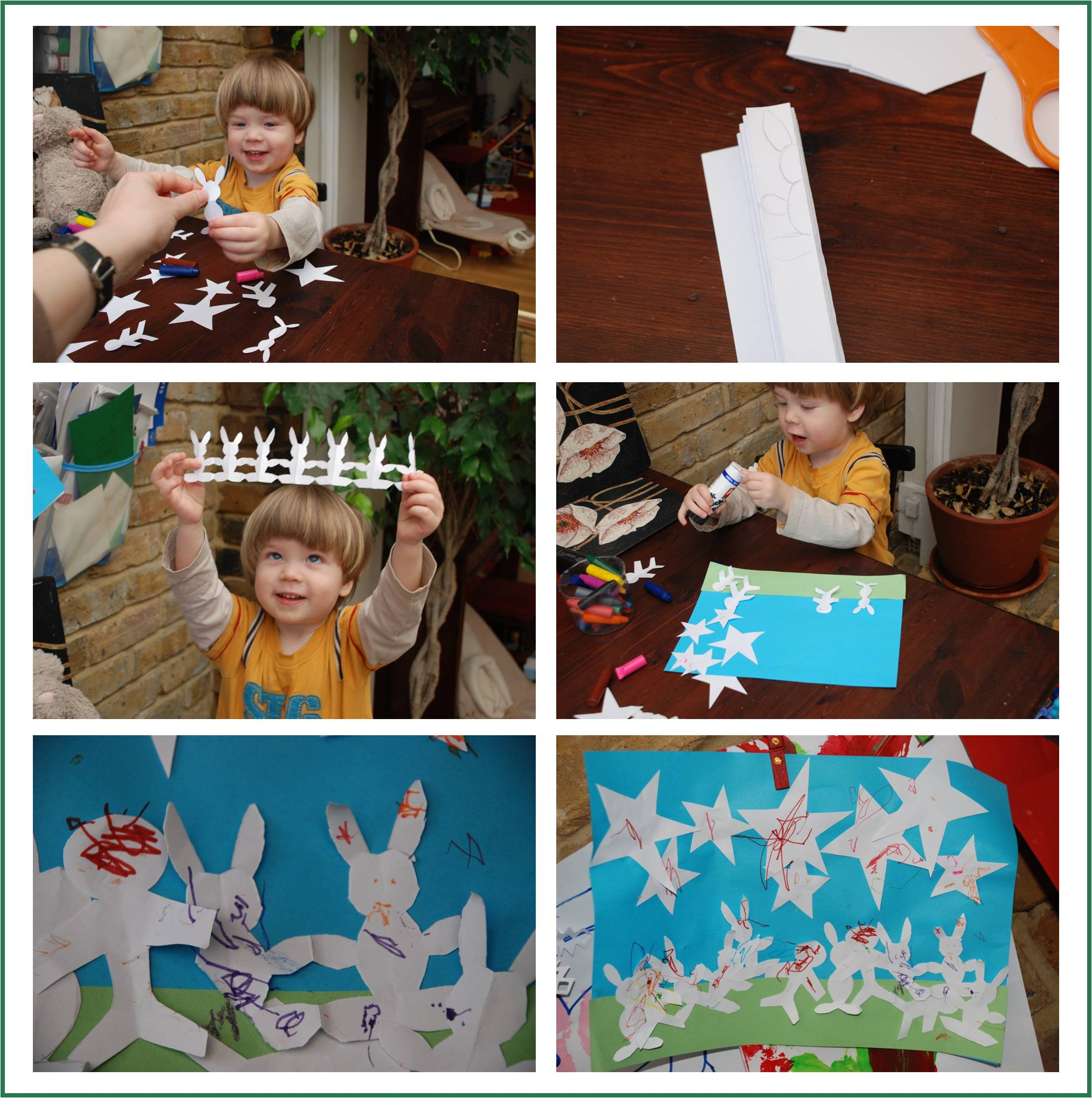 toddler crafts & stories