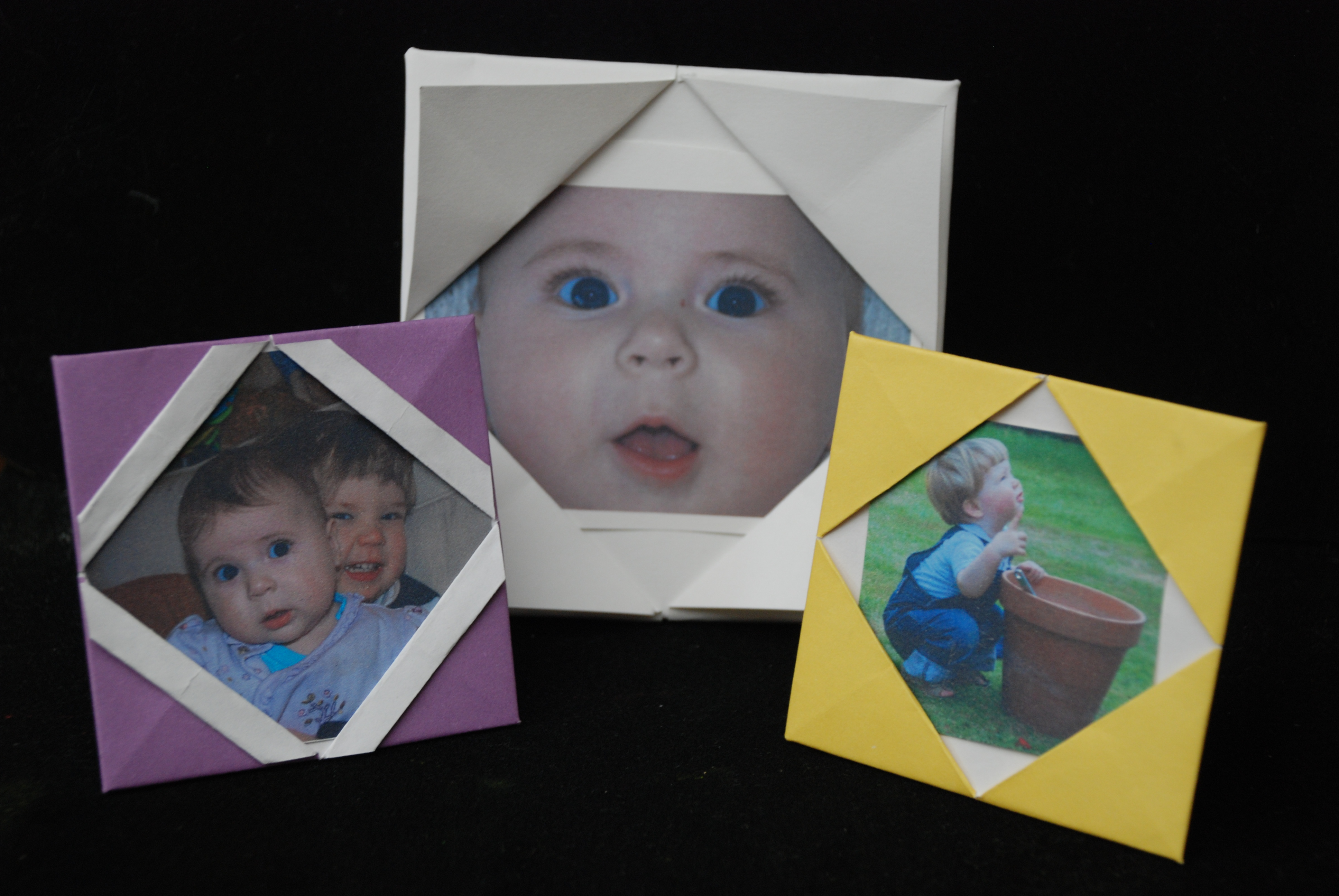 How to make Paper Frames