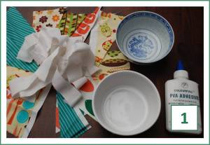 How to… make a Fabric Mâché Bowl!