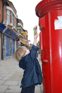 story + art = Great Start – The Jolly Postman & Simple Postcards