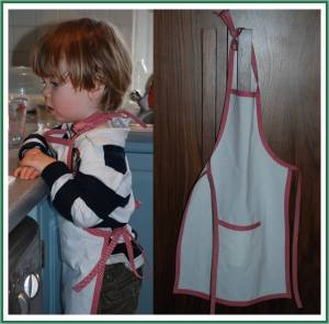 How make… a No Sew Apron (from a Tea Towel)
