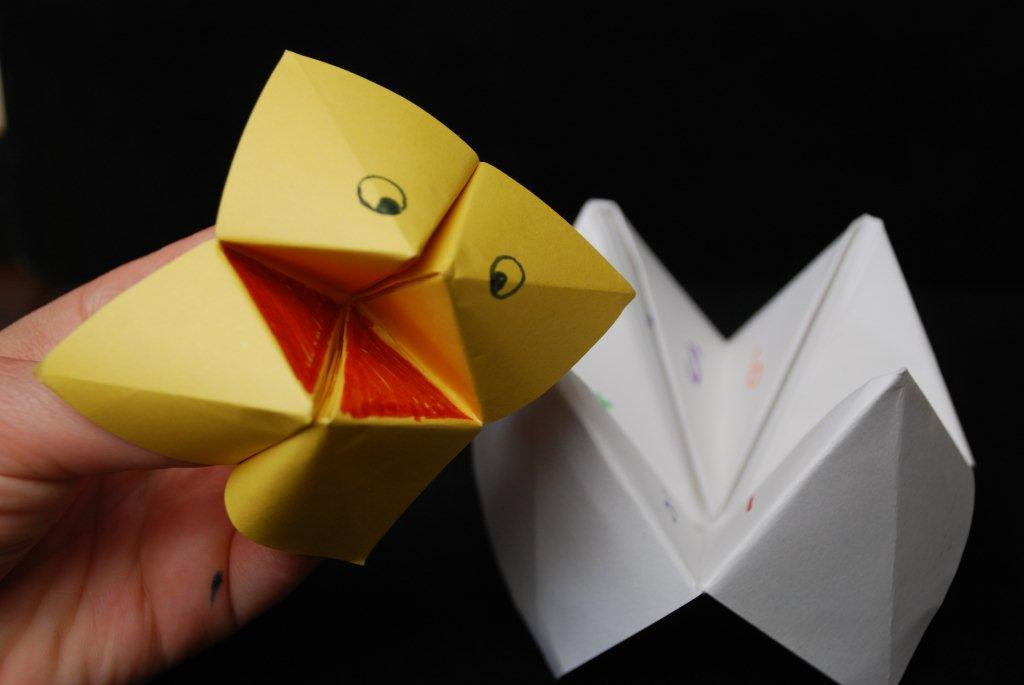 How To Make A Paper Fortune Teller Game | Skip To My Lou | 685x1024